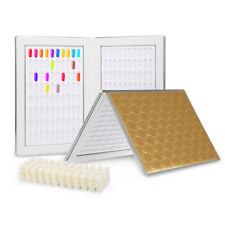 160 Nail Color Display Book With 240pcs False Nail Tips For DIY Nail Polish F5Z4