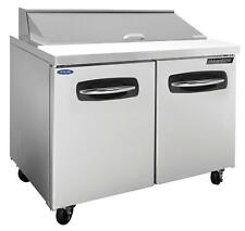 Nor-Lake Nlsp36-10A 36.38in Two Door Sandwich Top Refrigerated Counter