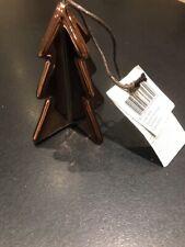 Bronze Christmas Tree Decoration