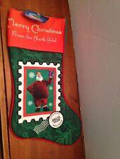 NEW ARTHUR CHRISTMAS HOLIDAY CHRISTMAS STOCKING MERRY CHRISTMAS FROM NORTH POLE