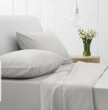 Sheridan King size fitted sheet king size 250 T//C cotton  Grey NEW