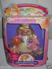 #9454 NIB Vintage Mattel Enchanted Island Lady Lovely Locks Doll