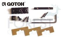 Gotoh GHL2 Floyd Rose ® style top mount locking nut, black