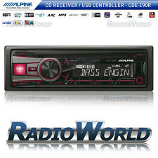 Alpine CDE-190R Car Stereo Headunit Radio CD Player FM AM USB MP3 AUX iPod