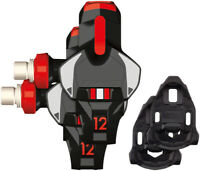 Time XPRO 12 Pedals - Single Sided Clipless  Carbon 9/16 Red/Black