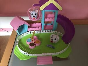 Chubby Puppies Ultimate Dog Park Playset With 2 Waddling Puppies + Instructions