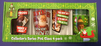Elf The Movie Collector's Series Pint Glass 4-Pack Brand New In Box Christmas