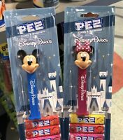 Disney Parks Exclusive Mickey & Minnie Mouse Pez Dispensers New