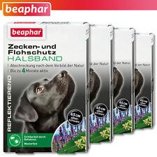 Beaphar 15246 Zecken- und Flohschutz Halsband reflektierend Hund