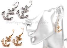 Strasssteine Mode-Ohrschmuck im Hänger-Stil aus Metall-Legierung