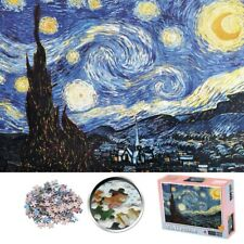 1000 Pieces Starry Night Mini Jigsaw Puzzle Puzzles Adult Kid Toys Assembling US