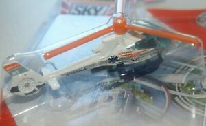 Matchbox MBX Airbus Helicopters H130 Emergency Aircraft Sky Busters Collectible