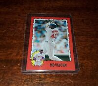 MO VAUGHN 2020 TOPPS #TBT THROWBACK PRINT RUN ONLY #/666 #70 BOSTON RED SOX
