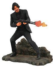 """John Wick Catacombs Gallery 9"""" Diorama Figure Keanu Reeves PVC New MIB Mint"""