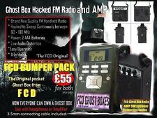 Genuine FCD Ghost Box FM Radio with Portable Mini Amp Speaker Bundle Mega Sale