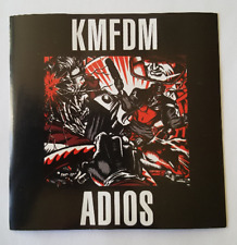 KMFDM Sticker ADIOS Promo Only Wax Trax Industrial Ministry Front 242 Rammstein
