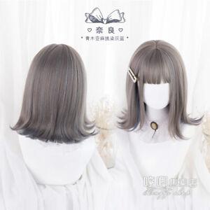 Japanese Daily Princess Cospaly Harajuku Lolita Wig short hair Gradient GF4