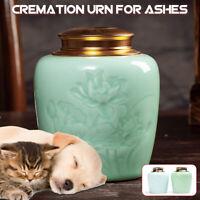 Haustier Urn Box Hund Katze Feuerbestattung Peaceful Gedenken Keep Ash Hülle