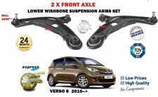 Para Toyota Verso S 2010- > 2X Delantero Izquierdo + Derecho Horquilla Inferior
