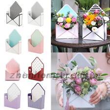 Envelope Fold Flower Gifts Box Wedding Favours Multi Paper Card Craft Storage