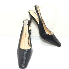 Women's Karen Scott Black High Heel Slingback Pumps Size 6 M