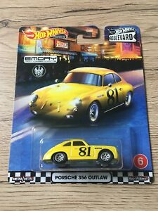 HOT WHEELS Boulevard Série Porsche 356 Outlaw