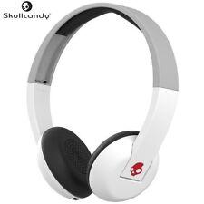 Skullcandy S5URHW-457 WHITE/GRAY Wireless Uproar Headset with TapTech /Brand New