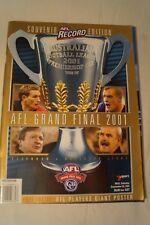 AFL Footy Record - 2001 - Grand Final - Souvenir Edition - Essendon v Brisbane