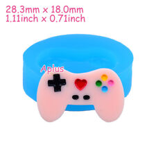 FFiEB389 28.3mm Game Controller Silicone Mold Cake Decoration Resin Polymer Clay