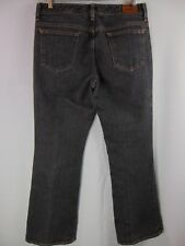 Eddie Bauer Black Denim Boot Cut Casual Jeans Women's Petite Size 8P - Pants