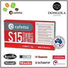 DELONGHI S15 Espresso Coffee Machine Cleaning Tablets Super Automatic CAFETTO