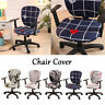Spandex Home Office Computer Chair Cover Stretchable Rotate Swivel Chair Covers