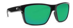 Costa Del Mar SLACK TIDE Shiny Black / Green Mirror Sunglasses 580G SLT11 OGMGLP
