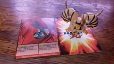 Sub Terra Raptorix Spinning 750G Bakugan with Raptorix Ability Card