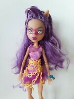 Clawdeen Wolf Haunted Monster High Doll Excellent Used Condition