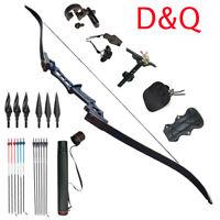 "31/"" Archery Hunting Fiberglass Arrows OD 6.6mm for Compound Recurve Bow /& Quiver"