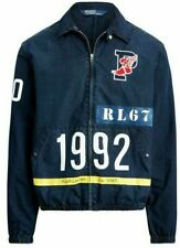 Polo Ralph Lauren Indigo Stadium Denim Jacket 1992 Vintage Hi Tech Cp93 XXL