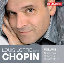 Louis Lortie - Lortie Plays Chopin 1/ Nocturnes Scherzos Sonata 2 [New CD]
