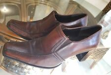 Sandra Miller leather ankle boot.Sz38. Light wear with lots of life left in them