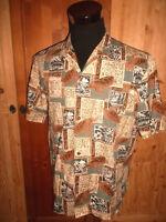 vintage ROYAL CREATIONS Hawaii Hemd oldschool shirt 90s surf hawaiihemd L