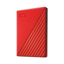 Western Digital WD 2TB My Passport 2020 Portable External Hard Drive Red VS