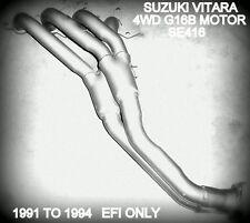 SUZUKI VITARA 4WD 19991-1994 SE416 G16B 1.6LT HEADERS / EXTRACTORS MANIFOLD