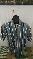 Natural Issue Striped Button Down Casual Shirt Size L