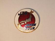 Broche Médaille Emaillée Tourisme - JTB Japan Tour (Travel Bureau)