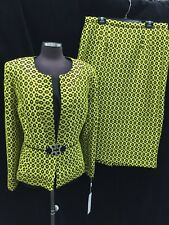 "LILY&TALOR SKIRT SUIT/NEW WITH TAG/RETAIL$279/SIZE 16/SKIRT LENGTH 32""/LINED/"