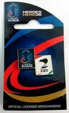 33484 RUGBY LEAGUE WORLD CUP RLWC 2008 NEW ZEALAND COLLECTABLE PIN BADGE