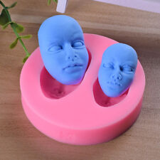 Sugar-craft Silicon Mold mold Head Face Mold For Modeling Figures Cake Toppers