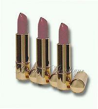 LOT OF 3 Estee Lauder Pure Color Velvet Lipstick VELVET BLOOM  #404 ~ Full-size