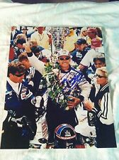 Arie Luyendyk Signed Indy 500 Win Photo Autograph 8x10 Photo Indianapolis 1997