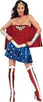 Wonderwoman Costume Sexy Adult Super Hero Wonder Woman - XS, S, M, L, XL -  Fast